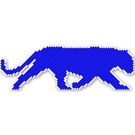 Cougar  Design Fence Decoration