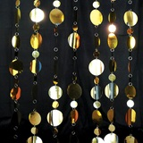 Golden Glimmer Curtain