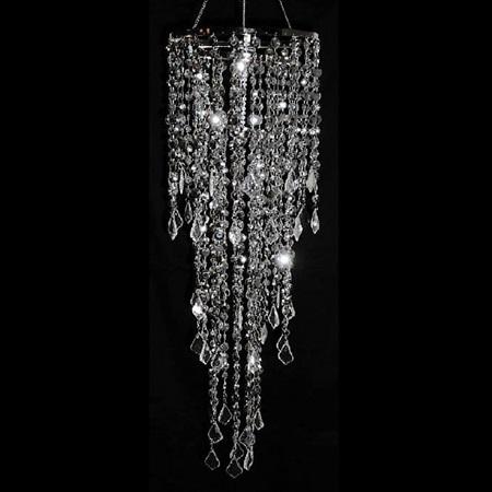 Silver rain chandelier prom nite silver rain chandelier aloadofball Choice Image