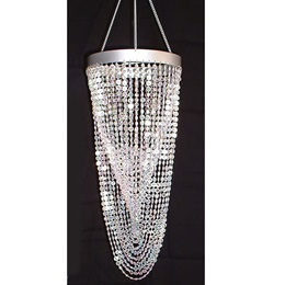 Diamond Shower Chandelier - Clear