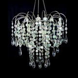 Small Iridescent Cascade Chandelier