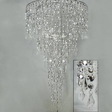 Combo Luxe Silver Chandelier
