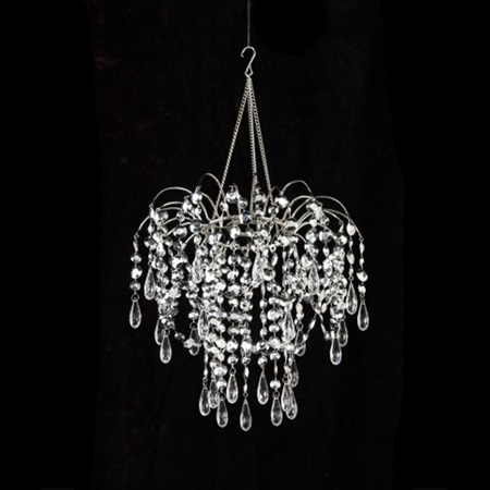 Silver Splash Chandelier