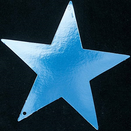 Foil Laminated Stars – 9 inch