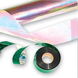 Clear Iridescent Streamer - 1 7/8 inch x 250 feet