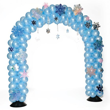 Winter Balloon Arch
