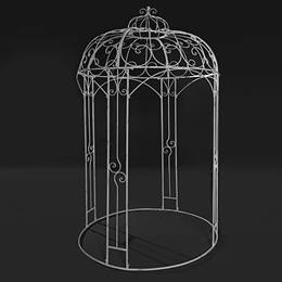 White Metal Gazebo