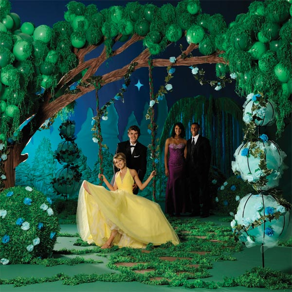 Right Here Right Now Tree Archway Swing Kit Prom Nite