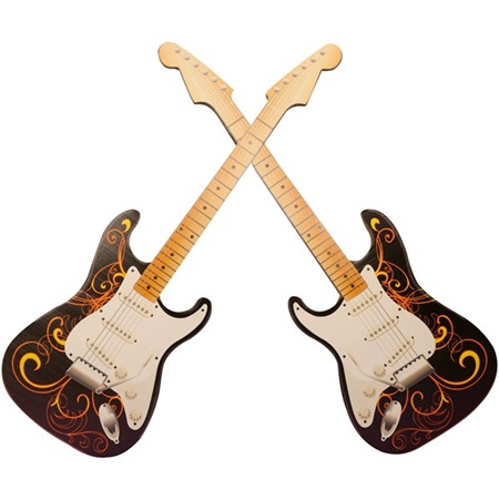 Rock 'N' Roll All Night Guitar Arch Kit (set of 2)