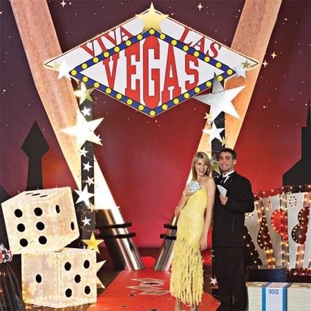 Viva Las Vegas Arch Kit Prom Nite