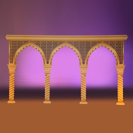 Arabesque Front Archway Kit