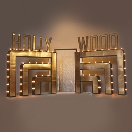 Golden Glamour Hollywood Arch Kit