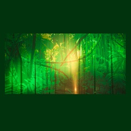 A Mighty Jungle Backdrop Kit