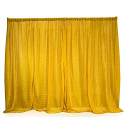 Metallic Gold Easy-Up Fabric Backdrop