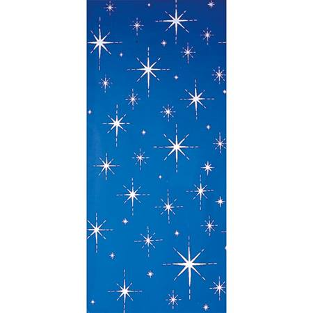 Blue Midnight Stars Mural