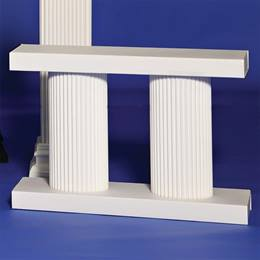 White Balustrade – 2 ft. (set of 2)