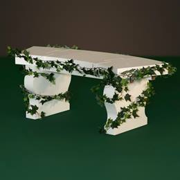 Vine-kissed Garden Bench Kit