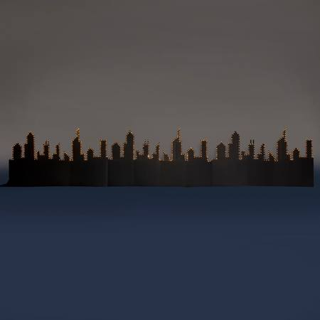 City Aglow Silhouettes Kit (set of 3)