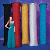 Glitter Fabric Column Cover