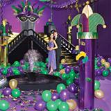 Purple Masquerade Columns Kit