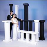 4 ft. White Columns (set of 6)