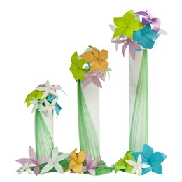 Floral Burst Columns Kit (set of 3)