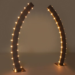 Soiree Lights Curved Columns Kit (set of 2)