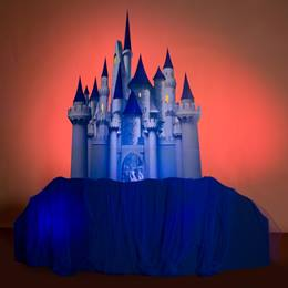 A Faraway Enchanted Castle and Hills Kit