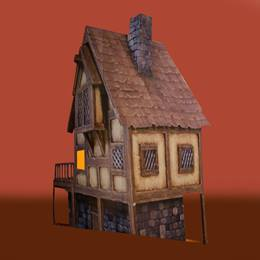 Provincial Paris Cottage with Porch Kit