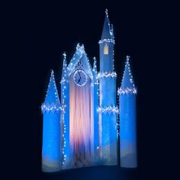 Dazzling Castle Turrets and Clock Tower Kit