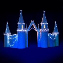 Dazzling Castle Entrance with Archway Kit