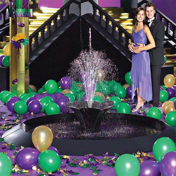 Masquerade Ball Prom Decorations: Complete Mardi Gras Masquerade