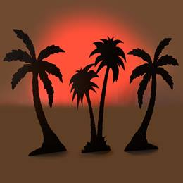 Striking A Pose Palm Trees (set of 3) Kit