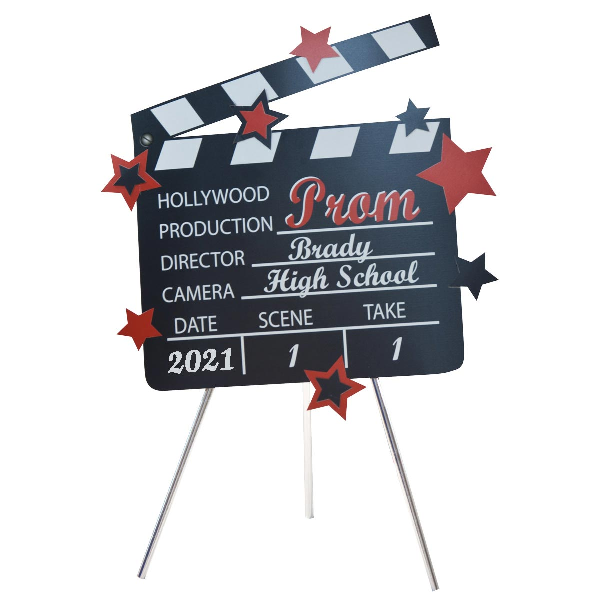 Produce Your Own Movie Clapboard Kit