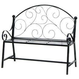 Wire Scroll Bench