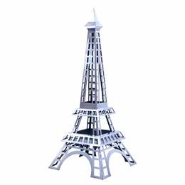 Stylized Silver La Tour Eiffel Kit