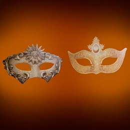 Mysterious Masquerade Masks Kit (set of 2)