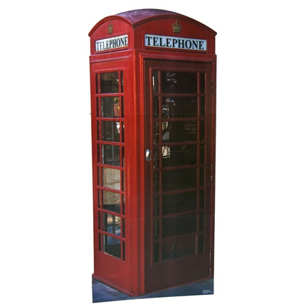 English Phone Booth Theme Prop