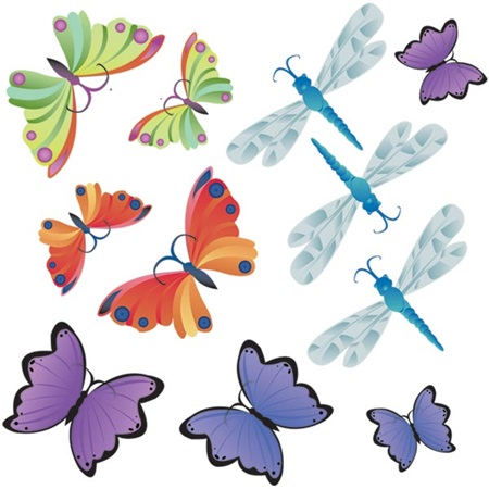 Blissful Beings Butterflies and Dragonflies Kit