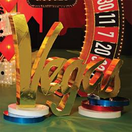 "The Night is Golden ""Vegas"" Sign Kit"