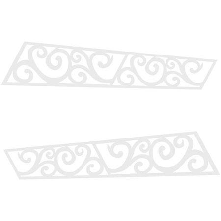 Star Shadows (set of 2) and Scrolls (set of 2) Kit