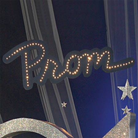 Dazzling Suspended Prom Sign Kit