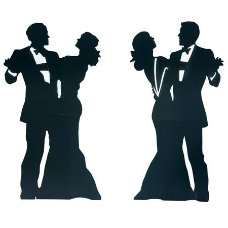 Dignified Dancing Couples Kit - Set of 2