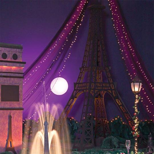 Eiffel Tower Structure Kit Prom Nite
