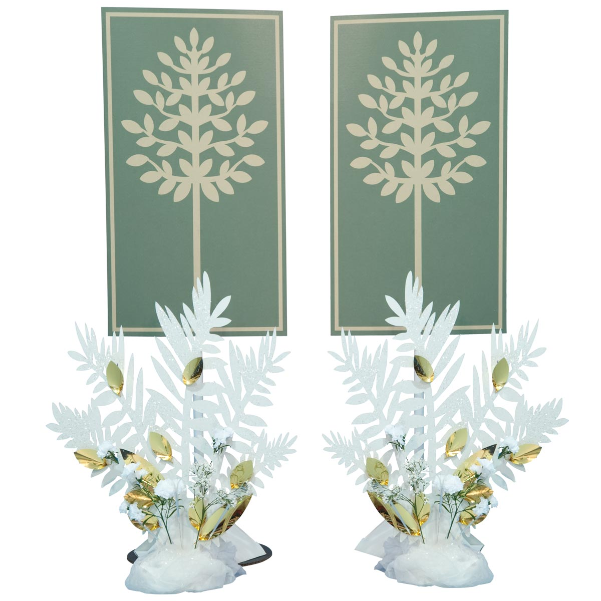 Love at First Sight Leaf Panel Stands Kit (set of 2)
