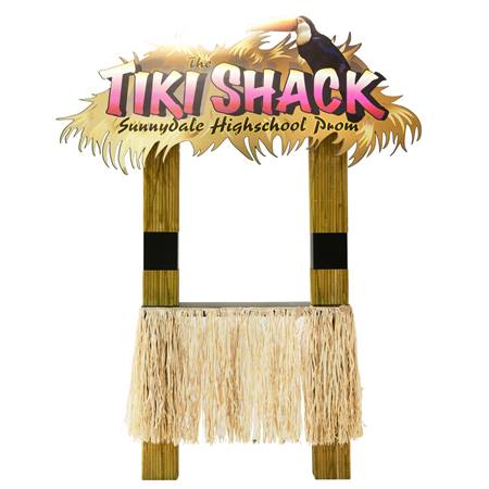 Personalized Tiki Shack Stand in the Sand Kit