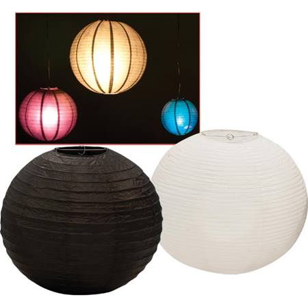Ball Lantern Set - 12 inches