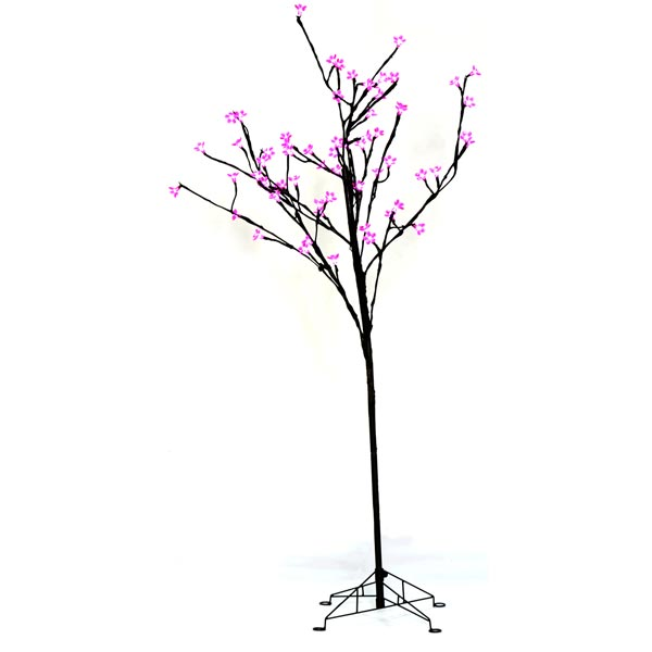 Lit Wire Cherry Blossom Tree
