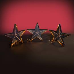 Hollywood Lighted Floor Stars (set of 3) Kit