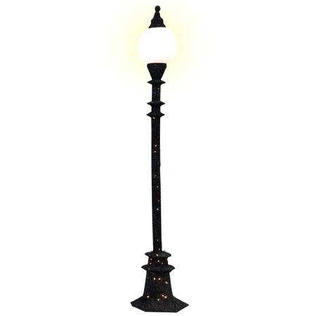 Single Round Bulb Lamppost